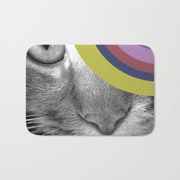Pshycedelic Cat Bath Mat