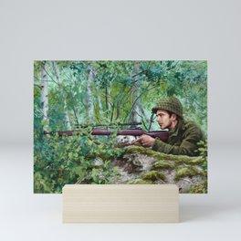 BFFs on the Battlefield Mini Art Print