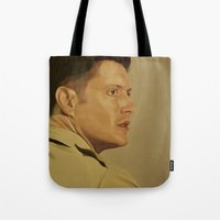 military Tote Bags featuring Military Dean by mycolour