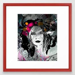 Black Framed Art Print