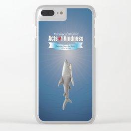 Shaka the Shark Clear iPhone Case
