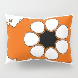 Northern Territory Australia Map with NT Flag Pillow Sham
