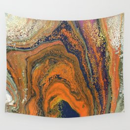 Fluid No. 18 - Wizard's Hat Wall Tapestry