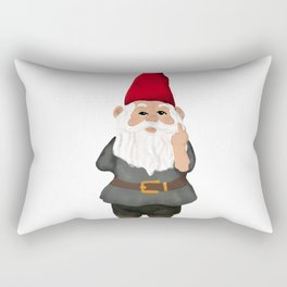 Hangin with my Gnomies - FU Rectangular Pillow