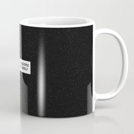 "Comic Book Panel: ""Be like the Universe and expand yourself"" Coffee Mug"