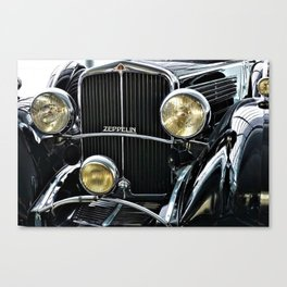 1930's Era German Zeppelin Vintage Automobile Canvas Print