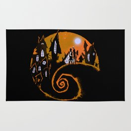 Jack And Sally Rug
