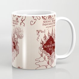 Marauder's Map Coffee Mug