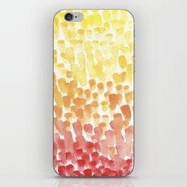 #56. UNTITLED (FALL) - Ombre iPhone Skin