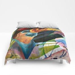 Moving Into Flight Comforters