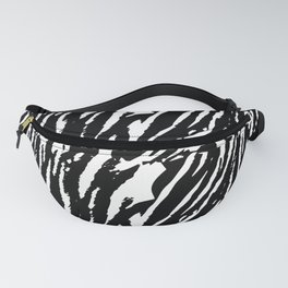 Tiger Black & White Fanny Pack
