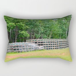 Lobster Fishing Tools Rectangular Pillow