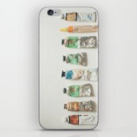 oil iPhone & iPod Skins featuring Oil Paints by Cassia Beck
