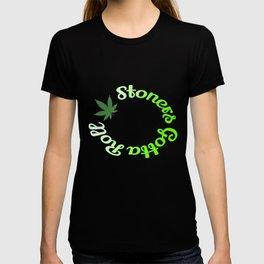 Stoners Gotta Roll Green T-shirt