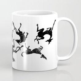 greyhound yoga Coffee Mug