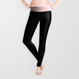 Just Get it girl - Black hand lettering Leggings