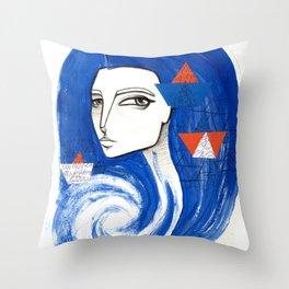 Sou Mar Throw Pillow