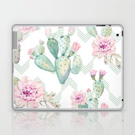 Cactus Chevron Southwestern Watercolor Laptop & iPad Skin
