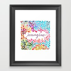 Imagine [Collaboration with Garima Dhawan] Framed Art Print