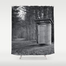 The Rest House Shower Curtain