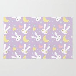 Magical Moon Rabbit Rug