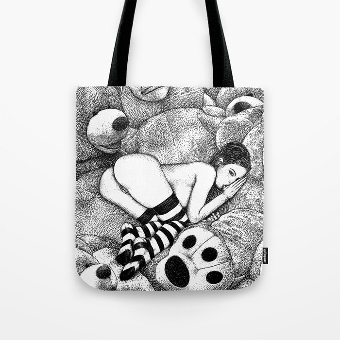 asc 675 - Le plaisir du doigt (The honey thumb) Tote Bag