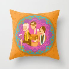 The Darjeerling Limited Throw Pillow
