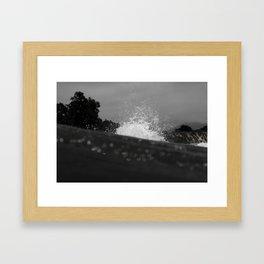 Far Awave Framed Art Print