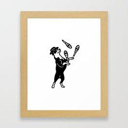 Juggler Framed Art Print