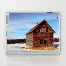 Empty Log Farm House Laptop & iPad Skin