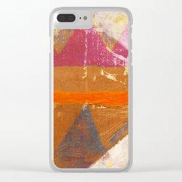 Popocatepetl Clear iPhone Case
