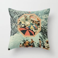Start of Summer Throw Pillow