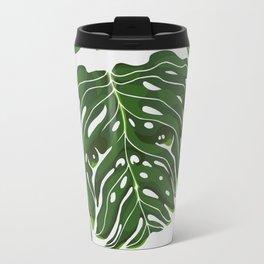 Monstera Pug Travel Mug