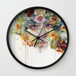 quiet zone Wall Clock