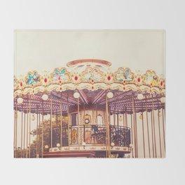 Carousel Throw Blanket