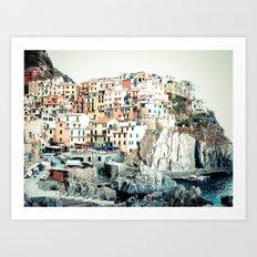 Cinque Terre. Art Print