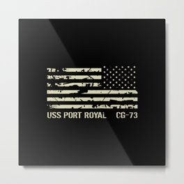 USS Port Royal Metal Print