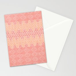 Akra in Coral Stationery Cards