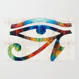 Eye of Horus - Art By Sharon Cummings Rug