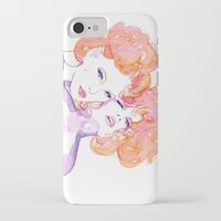 gustav klimt iPhone & iPod Cases featuring Klimt Mistresses by Nicola MacNeil