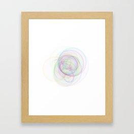 Rainbow Rings 1 Framed Art Print