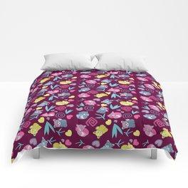 Cute Red Pandas Pattern Comforters