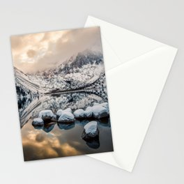 Picture California USA Convict Morrison Nature mountain Lake Scenery Mountains landscape photography Stationery Cards