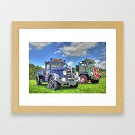 Bedford Dropside Tipper Framed Art Print