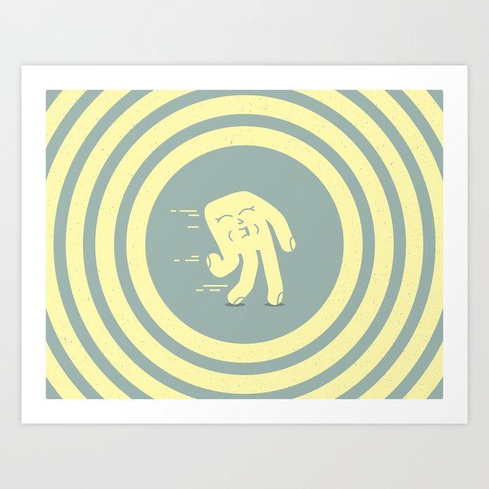 Magic Hand Seth Art Print