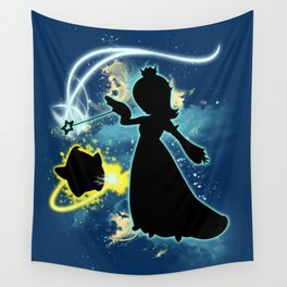 Super Smash Bros. Rosalina Silhouette Wall Tapestry