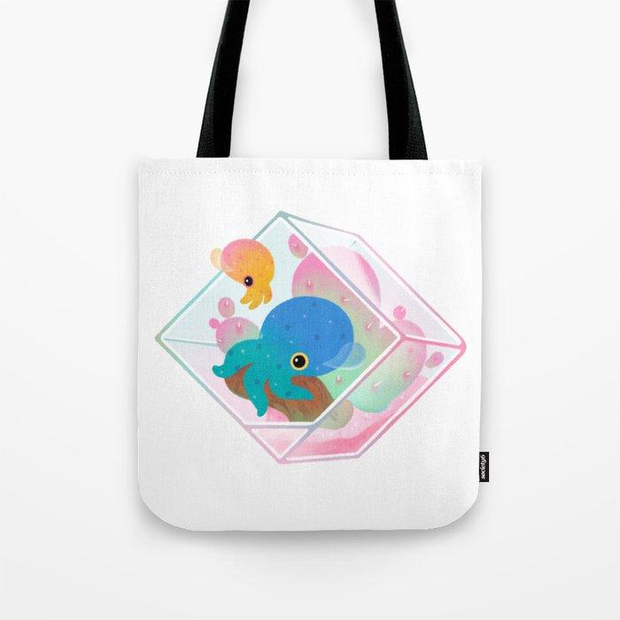 Ocean terrarium - Bobtail squids Tote Bag