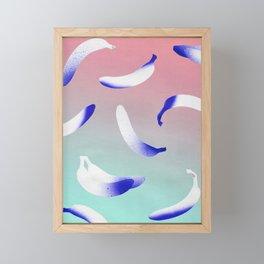 B-A-N-A-N-A-S Framed Mini Art Print