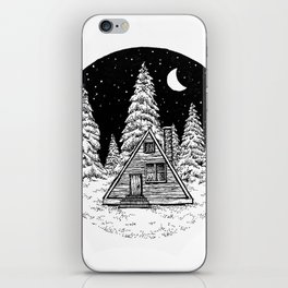 Winter Night iPhone Skin
