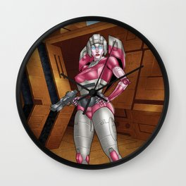 You better stay close to me! Wall Clock